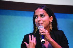 2015: a cantora Anitta, destaque dos seminários em 2015, foi uma das diversas personalidades de fora do mundo da propaganda que já passaram pelo palco do Wave (crédito: arquivo M&M)